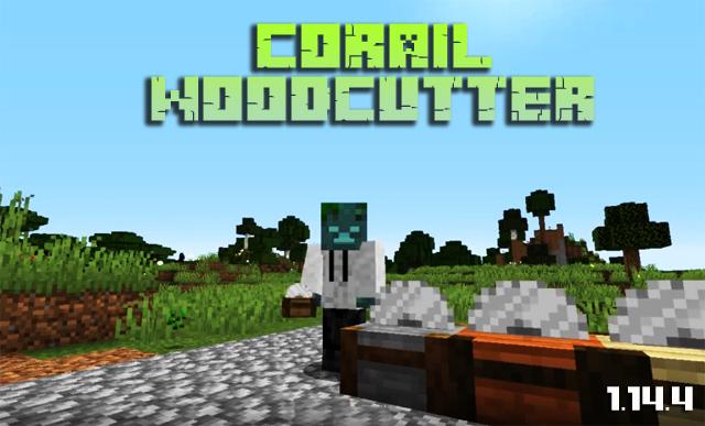 Скачать мод Corail Woodcutter для Майнкрафт 1.14.4