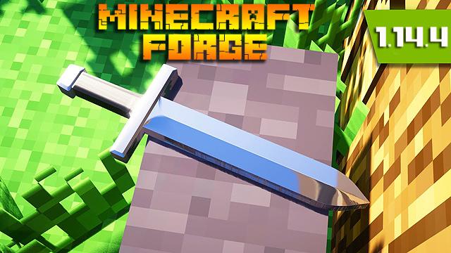 Скачать Майнкрафт Форже 1.14.4 / Minecraft Forge