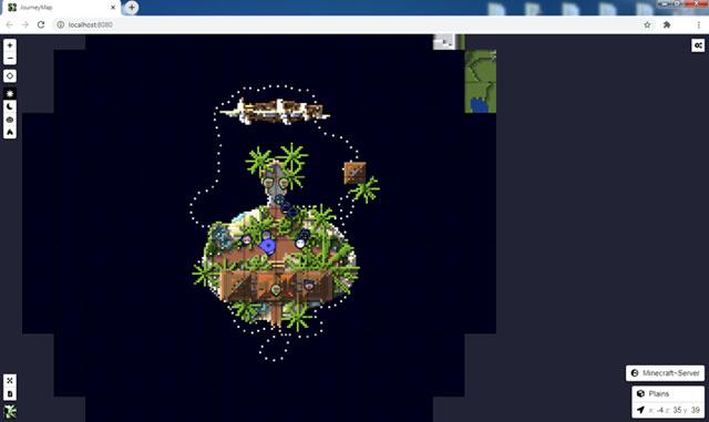 Мод JourneyMap для Майнкрафт 1.16.5, 1.15.2, 1.12.2 | Карта