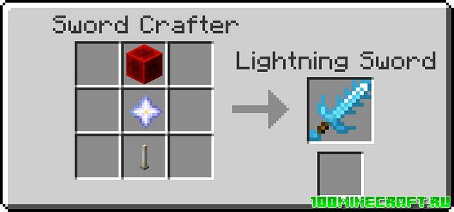 Рецепты для модификации Moar Swords | Minecraft 1.16.5
