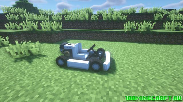 Мод на технику для Майнкрафт 1.16.5, 1.15.2 | MrCrayfish's Vehicle