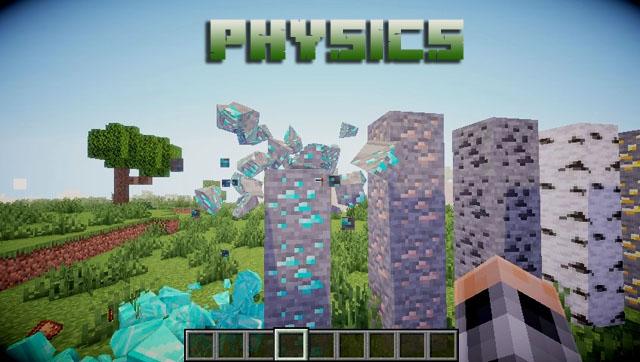 Мод для реалистичной графики блоков - Майнкрафт 1.16.5 | Physics