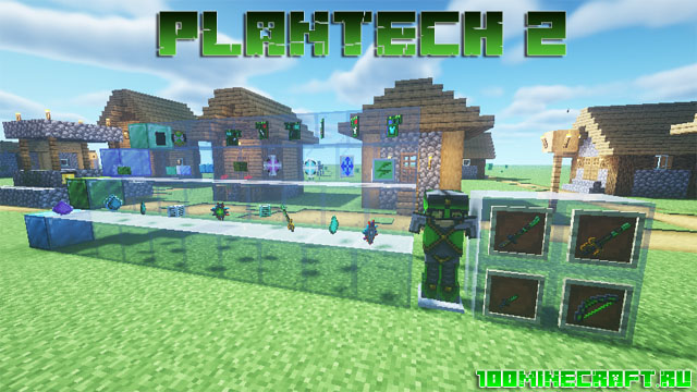 Мод Plantech 2 для Minecraft 1.16.5