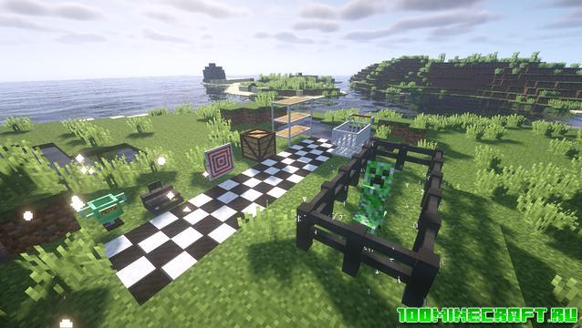 Мод на оружие Supermjs 3D Gun для Minecraft 1.15.2