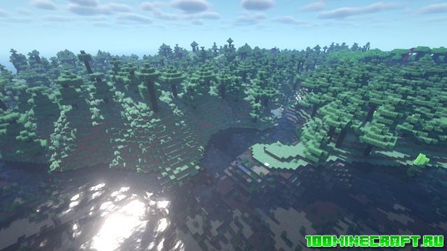 Мод Terra Forged для Minecraft 1.16.5