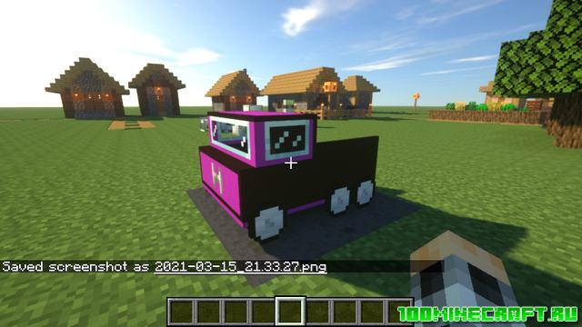 Мод на машины для Майнкрафт 1.16.5 | Ultimate car