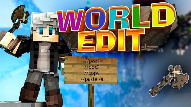 Майнкрафт мод World Edit 1.16.1