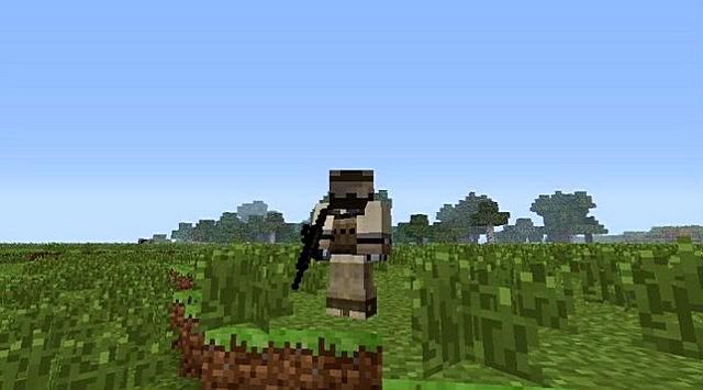Скачать мод на оружие для Майнкрафт 1.6.4