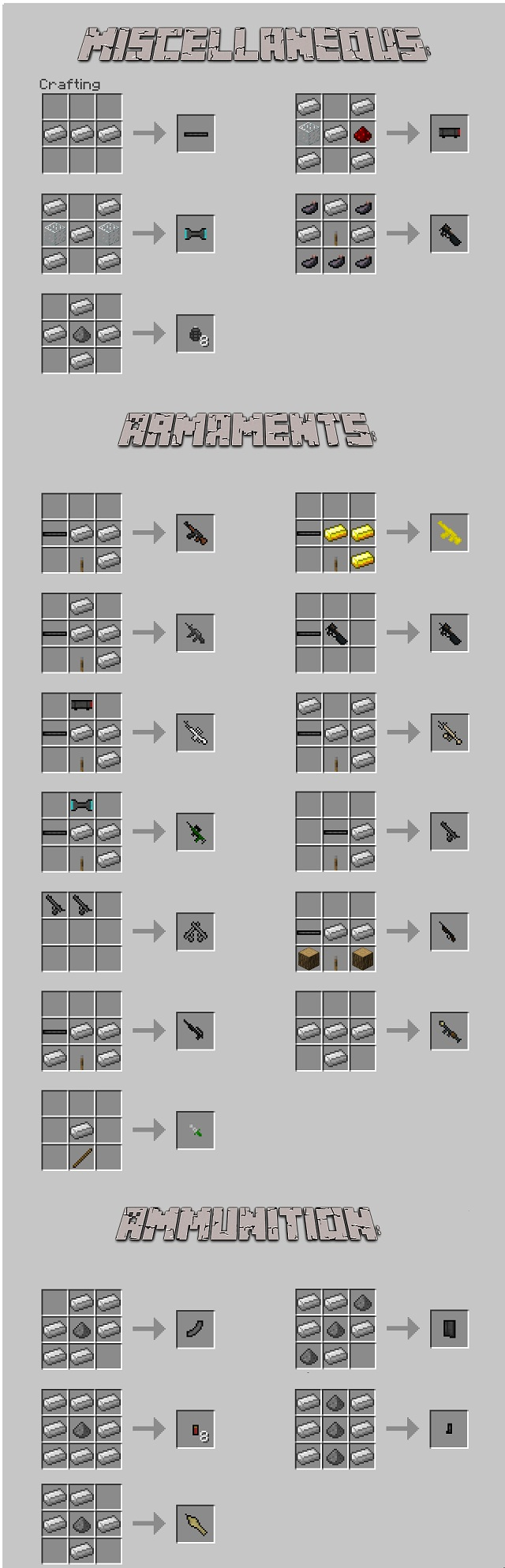 Скачать мод на оружие для Майнкрафт 1.7.10/1.7.2/1.6.2 - 3D Gun