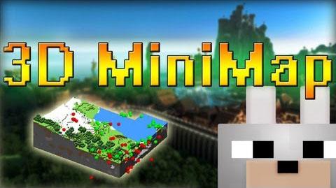 Мод для Майнкрафт 1.7.10/1.7.2 - 3D Minimap