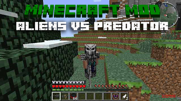 Скачать мод для Майнкрафт 1.7.10 - Aliens Vs Predator