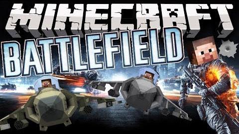 Скачать мод Battlefield для Майнкрафт версии 1.7.10