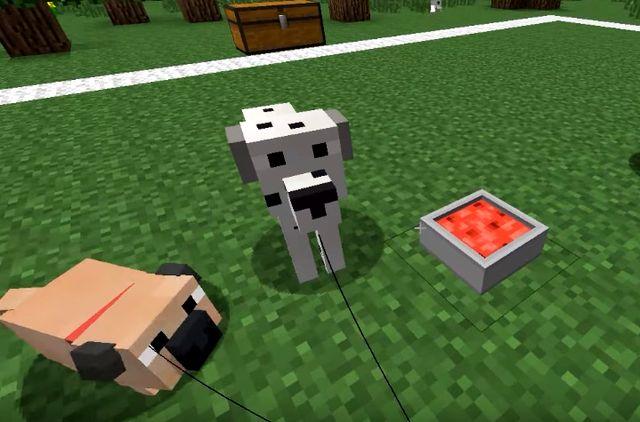 мод на собаку в майнкрафт 1.7.10 #3
