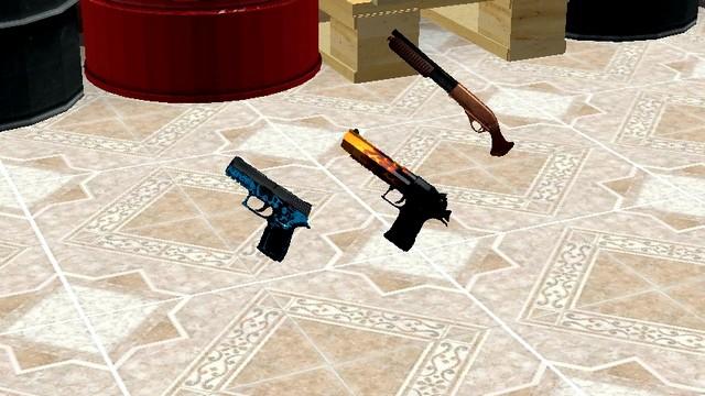 Майнкрафт мод на оружие из игры Контр страйк