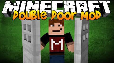 Скачать мод Double Doors для Майнкрафт 1.7.10