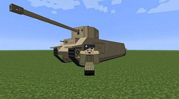 Скачать мод на оружие для Майнкрафт от Weapons