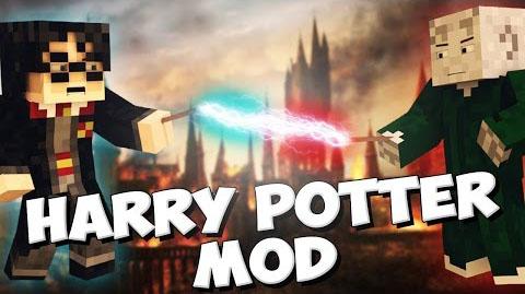 Мод для Майнкрафт 1.7.10 / Harry Potter Universe