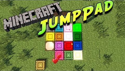 Скачать бесплатно мод JumpPad для Майнкрафт 1.7.10