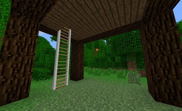 Скачать мод Luppiis Ladders для Майнкрафт 1.7.10