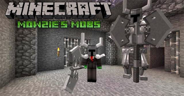 Скачать мод Зомби Mowzie's для Майнкрафт 1.7.10