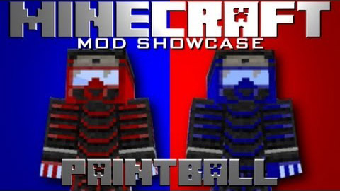 Скачать бесплатно мод для Майнкрафт 1.7.10 / Paintball