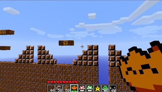 Мод Super Mario для Майнкрафт 1.7.10