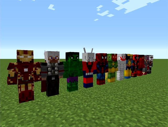 Скачать мод на супер героев для Майнкрафт 1.7.10