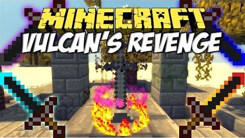 Мод для Майнкрафт 1.7.10/1.7.2 на магические мечи / Vulcan's Revenge Mod