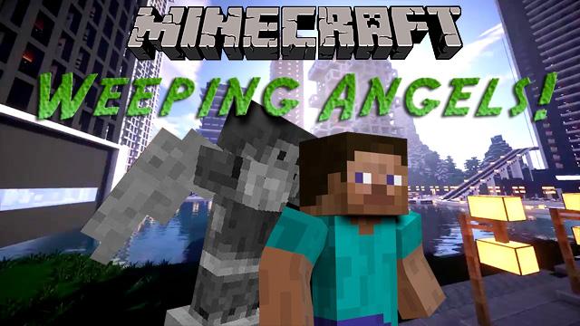 Скачать мод Weeping Angels для Майнкрафт 1.7.10