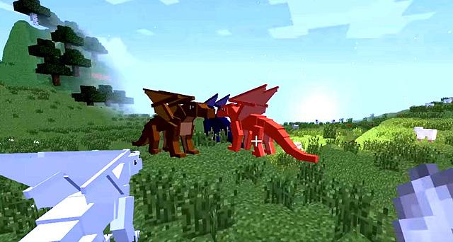 Скачать мод Wings of Fire для Майнкрафт 1.7.10