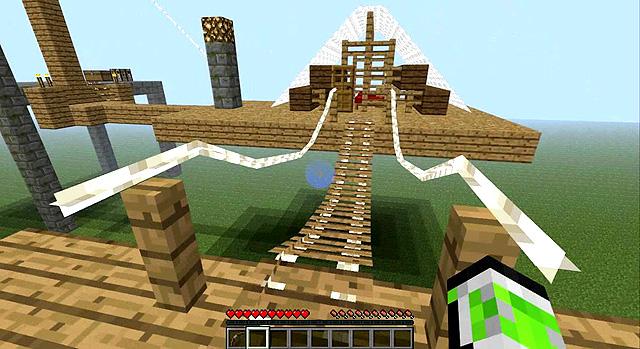 Мод на мосты и канаты для Майнкрафт 1.7.10