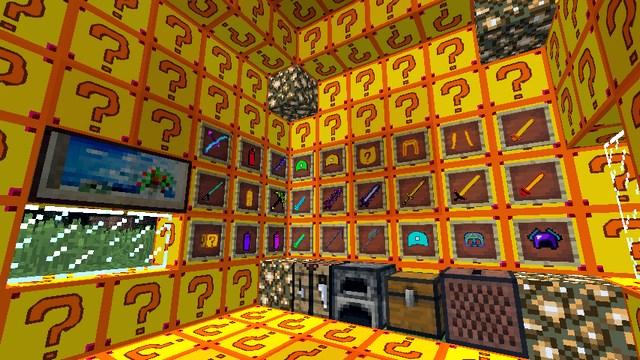 Скачать мод Лаки Блок Фортуна для Minecraft 1.8.9