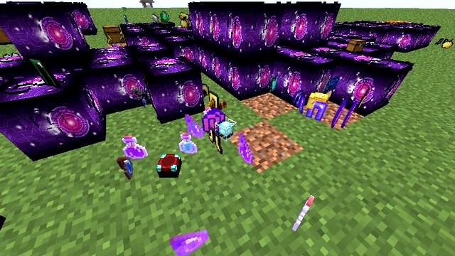 Мод Лаки блок Future для Minecraft 1.8.9