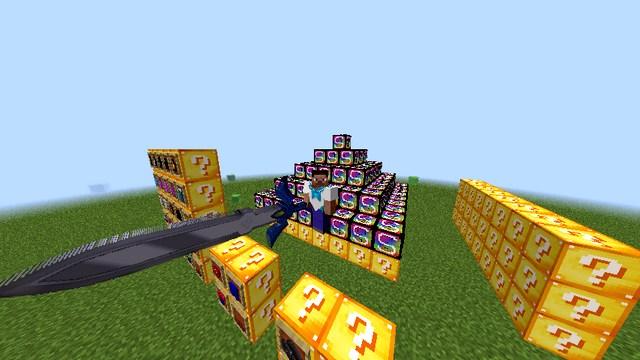 Мод Lucky Block Видео игры на Майнкрафт 1.8.9