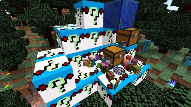 Мод на Лаки блок Зомби для Minecraft 1.8.9