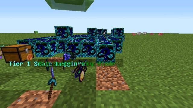 Мод Лаки Блок Snake для Minecraft 1.8.9