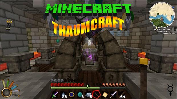 Бесплатно скачать мод Thaumcraft для игры Майнкрафт 1.8.9