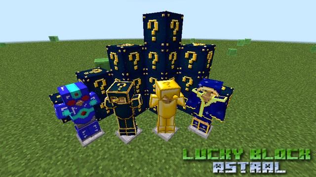 Мод Лаки блок Astral на Майнкрафт 1.8.9