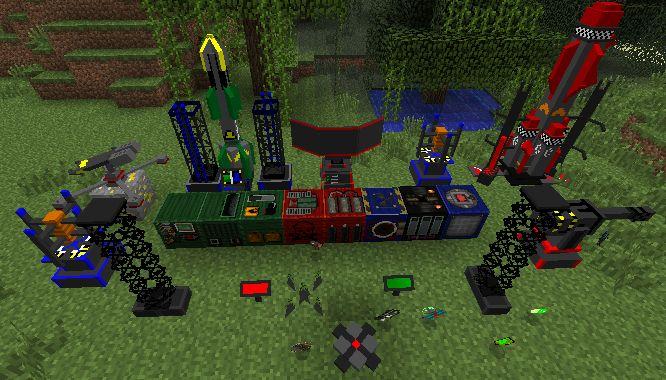 Скачать мод для Майнкрафт 1.5.2 бесплатно / Ракетные установки, самонаводящиеся ракеты, взрывчатки и многое другое