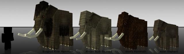 Слоны / Мод для Minecraft 1.5.2