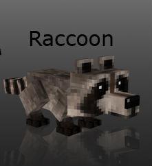 Енот / Minecraft мод 1.5.2
