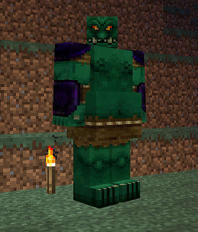 Людоед / Minecraft mod 1.5.2 / Mo Creatures