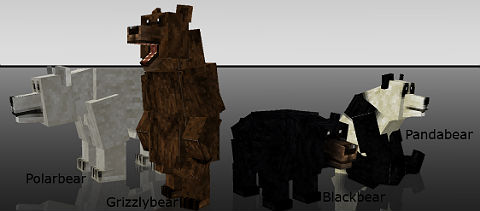 Медведи / Майнкрафт мод 1.5.2