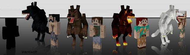 Оборотни / Mo Creatures Minecraft мод 1.5.2