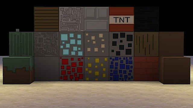Скачать бесплатно текстур пак для Minecraft / Cartoon