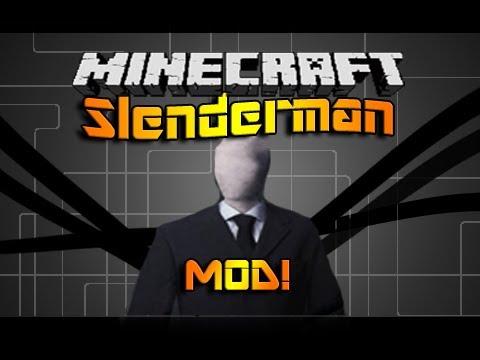 Майнкрафт мод Slenderman / Скачать бесплатно / Для версии 1.5
