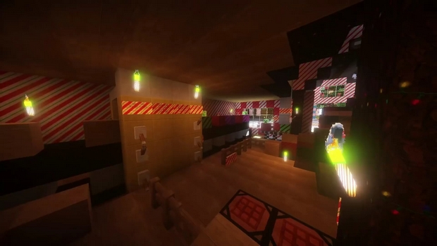 Скачать Новогодние 3D текстуры для Майнкрафт 1.12.x | 1.11.2