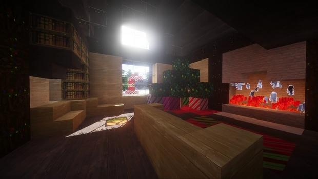 Скачать Новогодние 3D текстуры для Майнкрафт 1.12.x   1.11.2