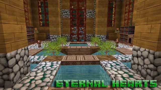 Скачать РПГ текстуры 64х64 для Minecraft   Eternal-Hearts