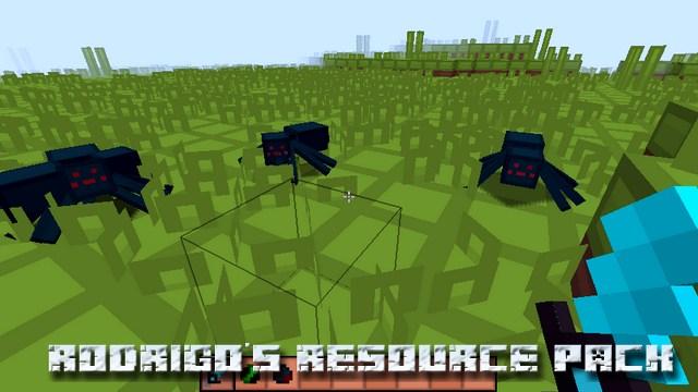 Текстуры Rodrigo's PvP 8x8 на Майнкрафт 1.12.2